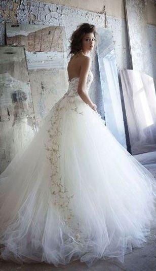 Dress wedding, Wedding dressses and Wedding on Pinterest