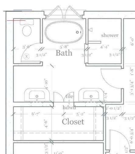 Bathroom Layout 8x10 Master Bath 40 Ideas Bathroom Layout 8x10 Master Bath 40 Ideas Bathroom Layout In 2020 Bathroom Floor Plans Master Bathroom Decor Bathroom Plans