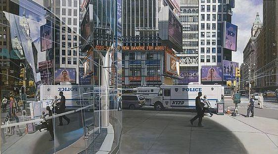 Art by Richard Estes | modern design by moderndesign.org