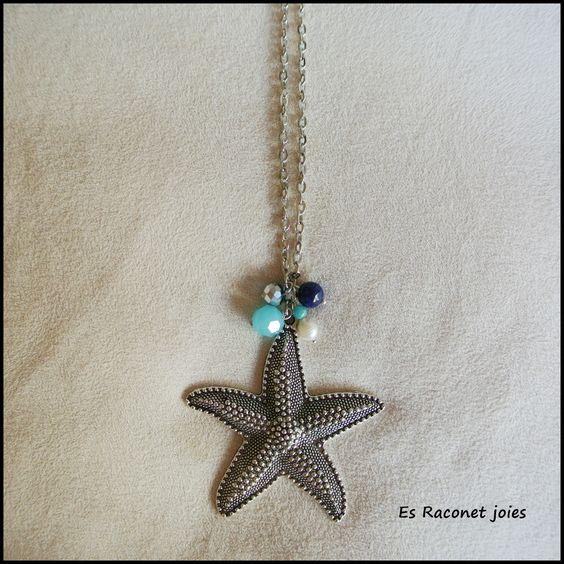 Collar estrella de mar - 7€