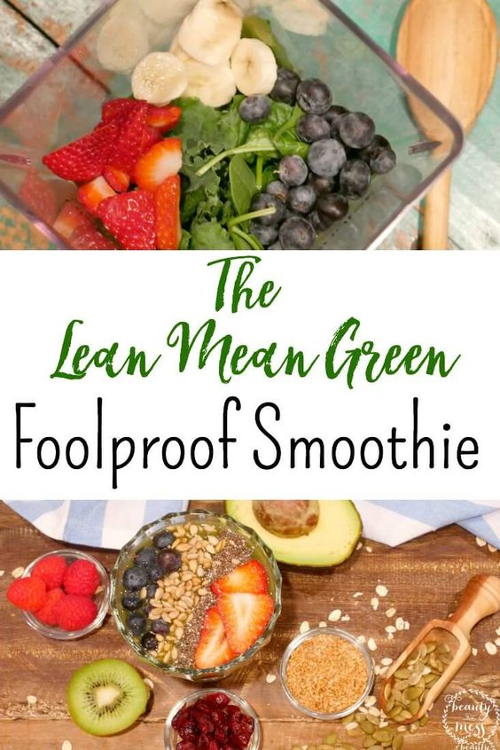 ... Mean Green Foolproof Smoothie | After Workout, Smoothie and Workout