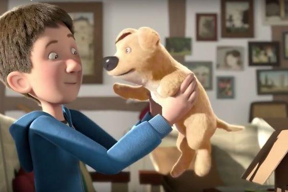 Um cão, um vício e uma deficiência. Vídeo está a emocionar a internet