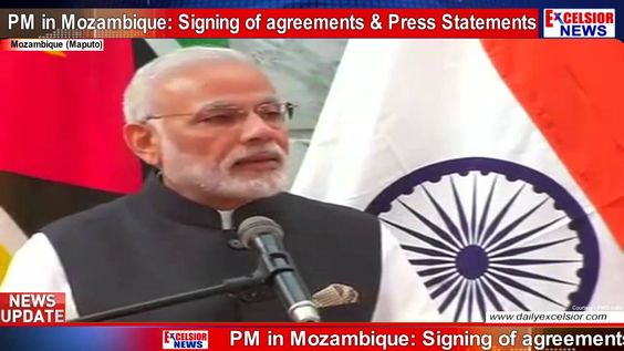 PM in Mozambique: Signing of agreements & Press Statements