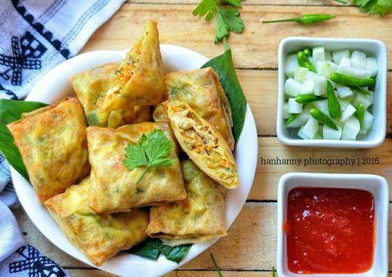 Resep Martabak Mini Isi Ayam Sayur Oleh Hanhanny Resep Resep Masakan Makanan Memasak
