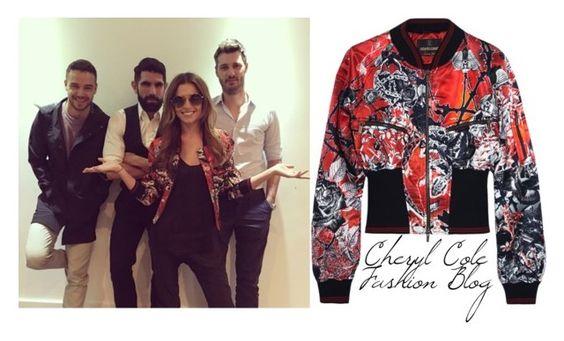 """CHeryl on Instagram with Liam"" by liampaynestyleblog on Polyvore featuring Roberto Cavalli"