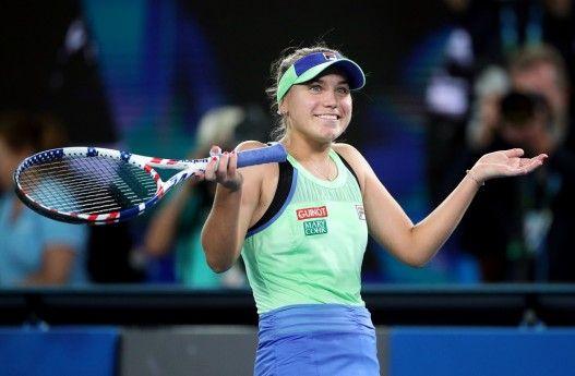 Kenin Stuns Muguruza To Win Australian Open Women S Title In 2020 Australian Open Muguruza Betting