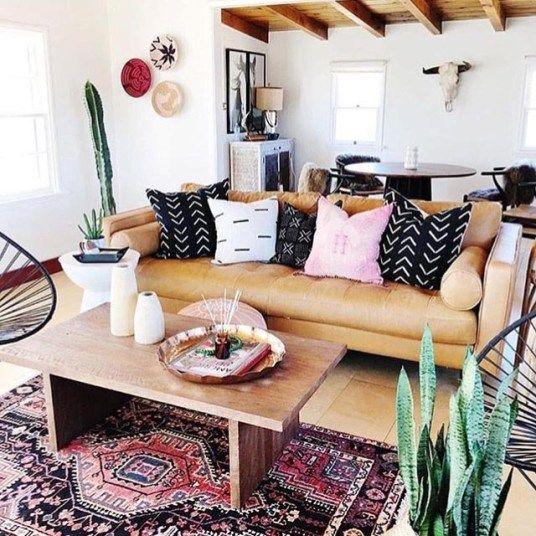 Les Meilleurs Hashtags Instagram De Deco Interieure Salon Ethnique Et Boheme Boh Eclectic Living Room Living Room Decor Eclectic Moroccan Decor Living Room