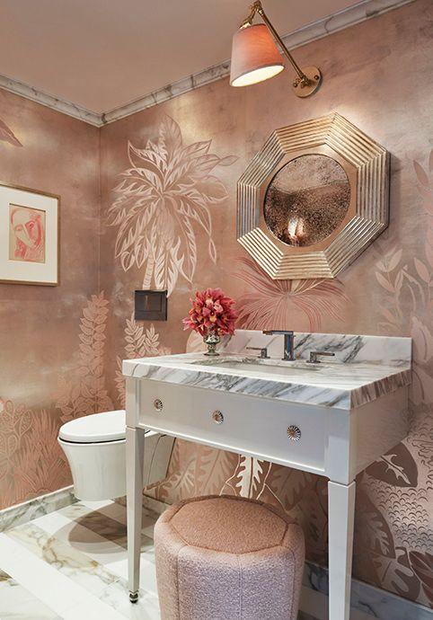 Pin By Anna Wintour On Haute Powder Room Powder Room Design