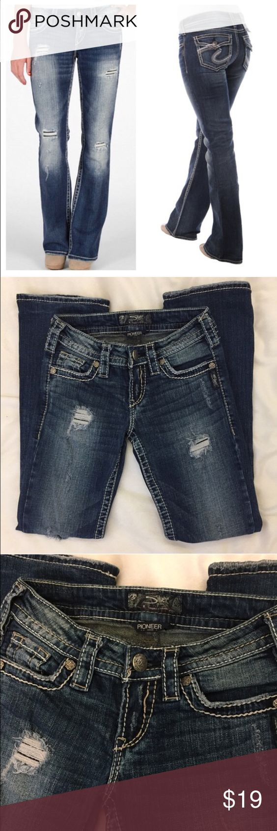 🍀$11 Sale🍀 SILVER Pioneer bootcut jeans | The o'jays, Cas and ...