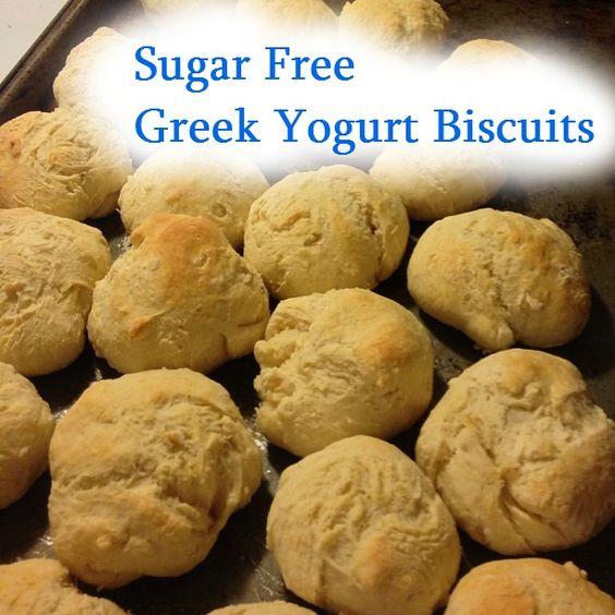 Sugar Free, Low Fat Greek Yogurt Biscuits! on MyRecipeMagic.com