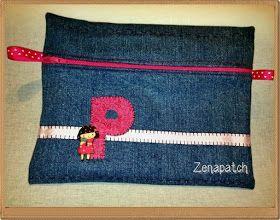 Zenapatch: Reciclando vaqueros: reto de Little Kimono