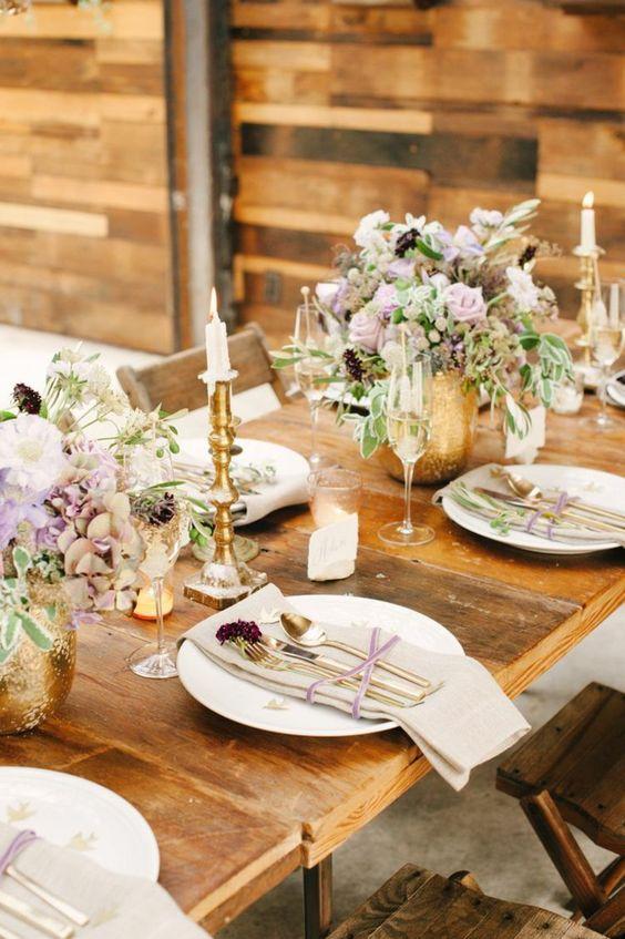D Coration Florale Pour Table Id Es Mariages En Automne Mariage Decoration And Tables