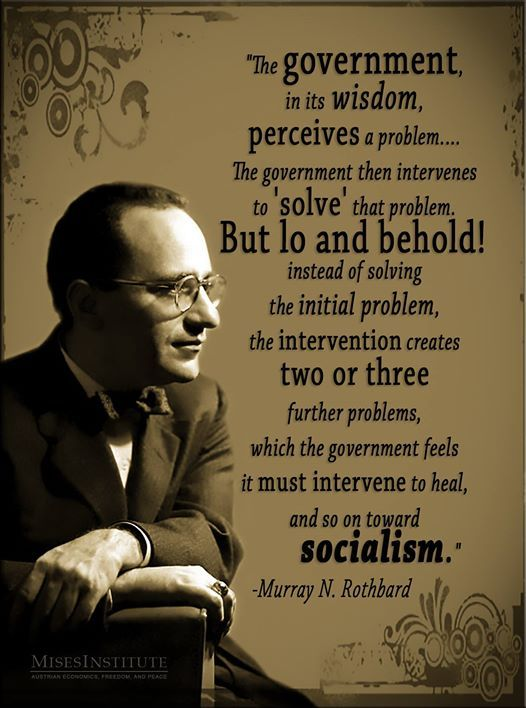 This quote is from Rothbard's book, Making Economic Sense.  You can read more here:  http://mises.org/library/making-economic-sense: