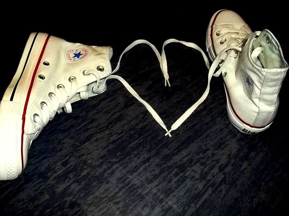 I wanted white all stars...and my friends did me one better and got me high-tops for my birthday. I LOVE THEM <3