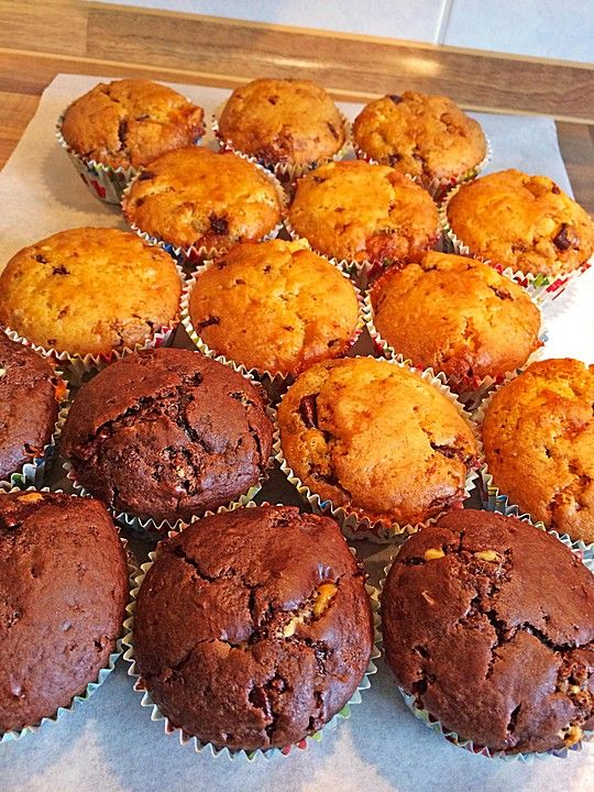Veganer Muffin-Grundteig