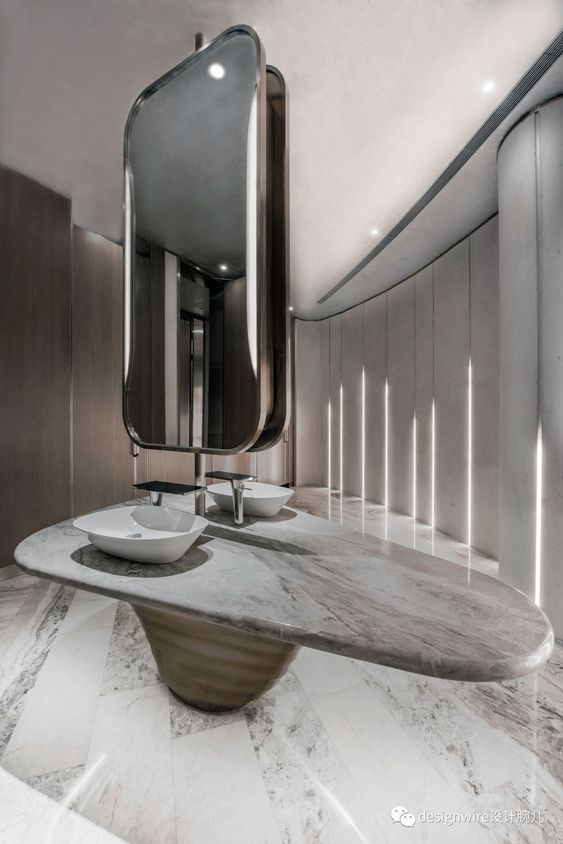 Dizzy Modern Bathroom
