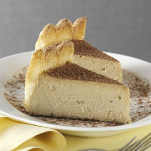 Creamy Tiramisu Cheesecake recipe from the April/May 2012 issue of Taste of Home.