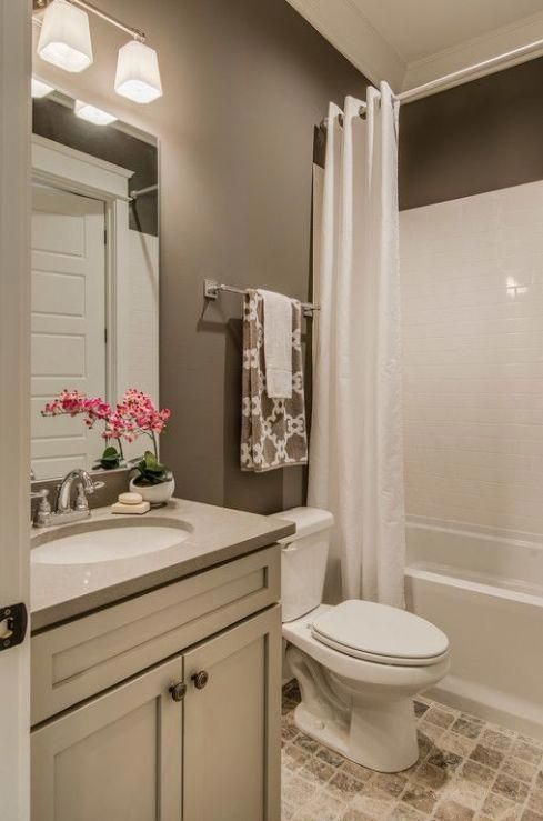At Each Ceiling Its Adequate Paint Small Bathroom Paint Small Bathroom Remodel Small Bathroom