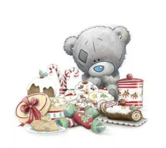 Tatty Teddy....Christmas....This says: T: