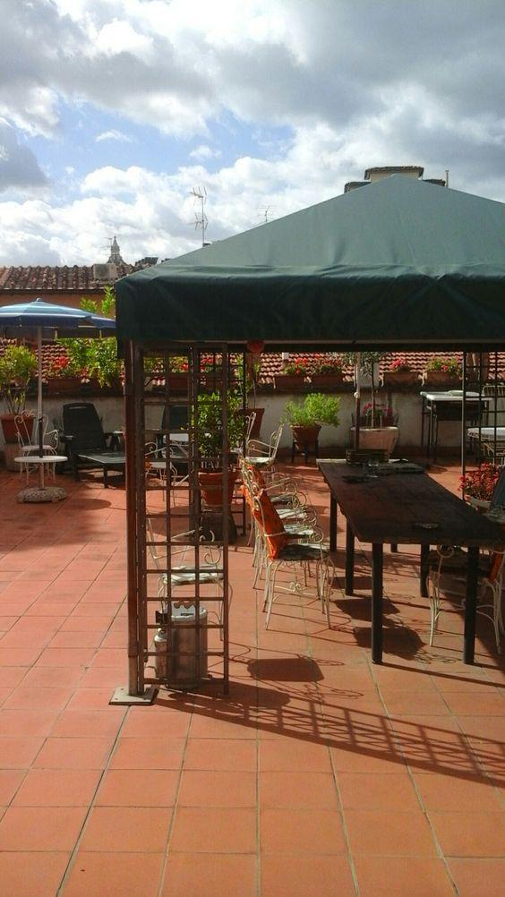 Terrace  @ Il Bargellino