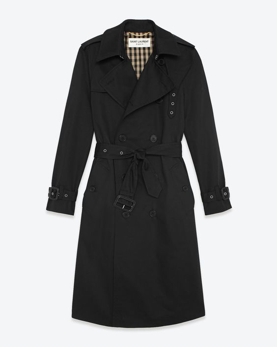 Saint Laurent Paris Coat