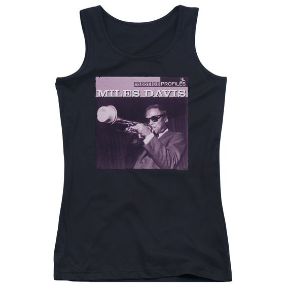 CONCORD MUSIC/PRINCE - JUNIORS TANK TOP - BLACK -