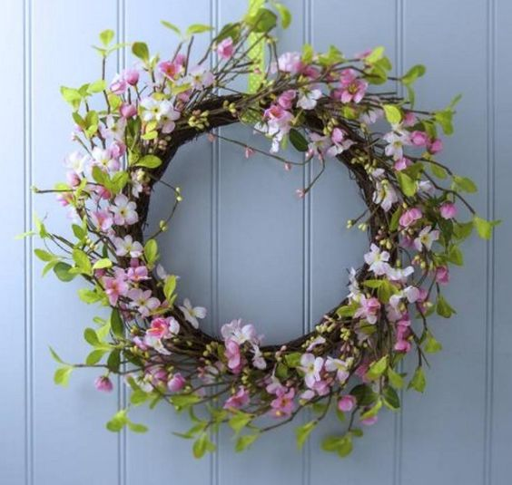 Easter wreaths and garlands