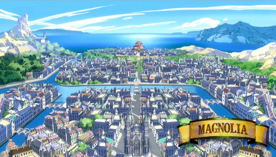 Fairy Tail: Magnolia. A concept for Gacim city