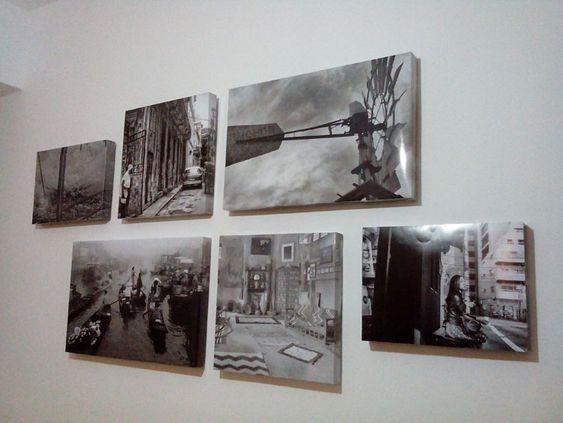 Enmarcar fotos como lienzos