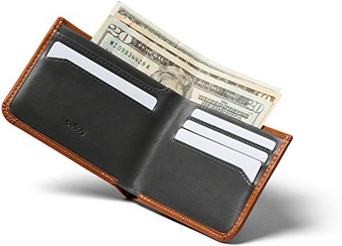 Bellroy Leather Hide Seek Wallet Caramel Rfid Amazon Co Uk