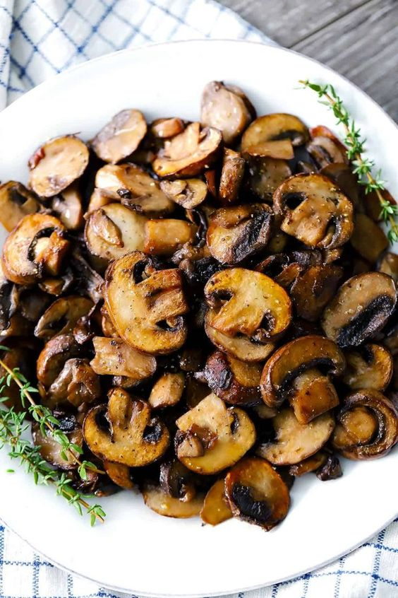 Perfectly Browned Sautéed Mushrooms