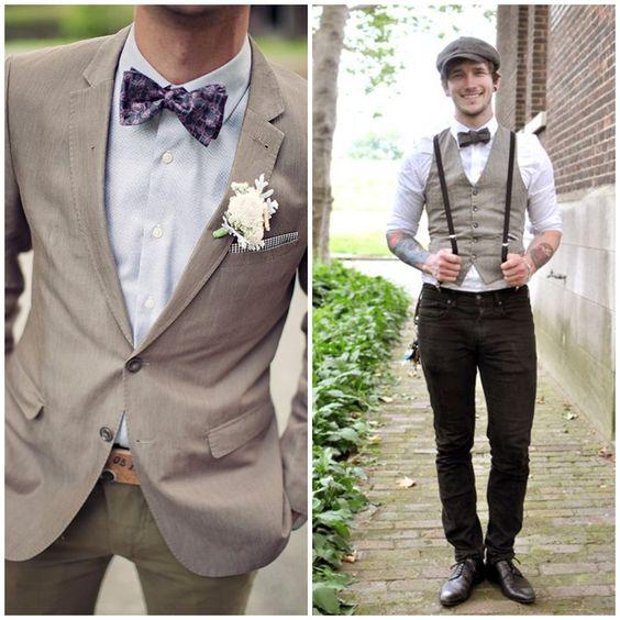 Inspiración: 10 looks de novio con pajarita   Preparar tu boda es facilisimo.com