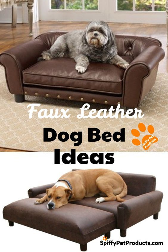Faux Leather Dog Bed Ideas Faux Leather Dog Bed Leather Dog Bed