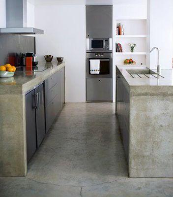 Oferujemy blaty betonowe na wymiar. Beton dekoracyjny - Beton architektoniczny Poznań. Profesjonalnie i dokładnie.:
