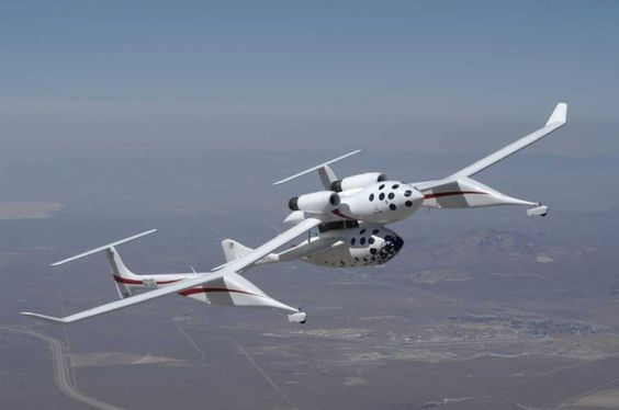 Scaled Composites took the idea to a new level with the custom White Knight mothership it built to carry SpaceShipOne to 50,000 feet. The rocket then launched away to become the first private craft to carry people into space in 2004.