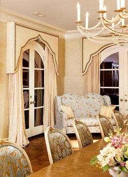 Cornices Traditional Dining Rooms And Arch Window