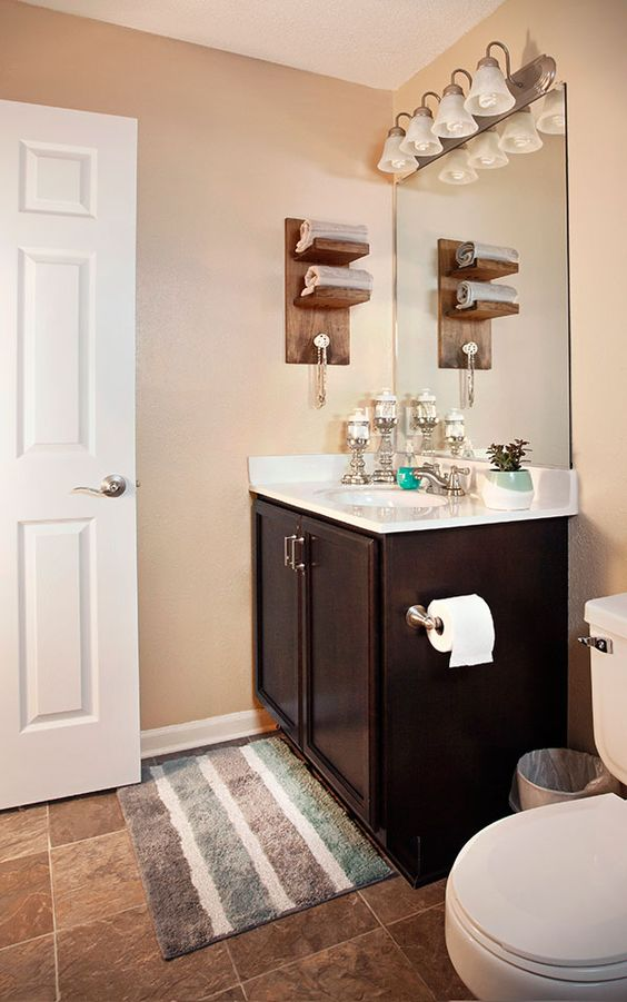 3 easy diy projects for a small bathroom upgrade easy for Small bathroom upgrade ideas