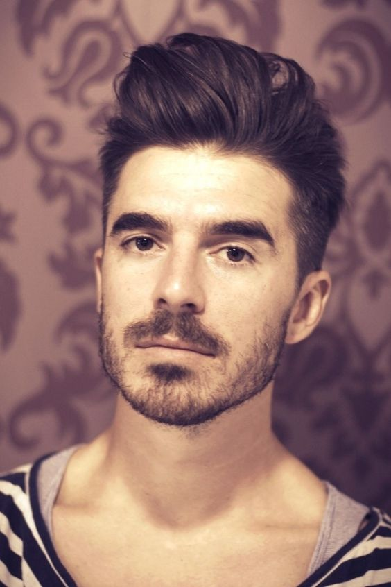 competition hairstyles : Come Over Hairstyle Men Hair cut on pinterest mens cuts, comb over ...