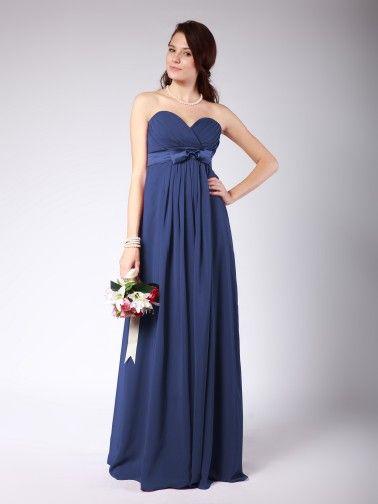 Sweetheart Column Bridesmaid Dress