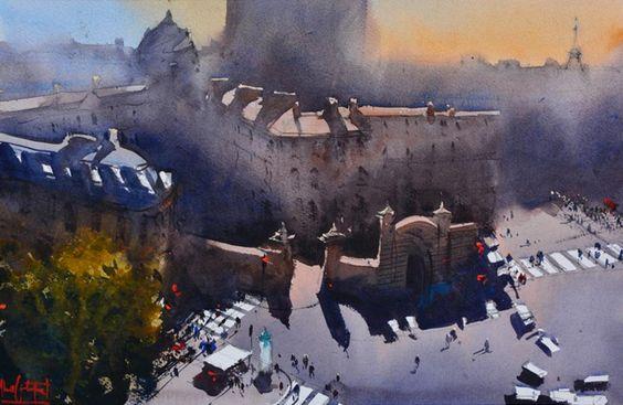 Alvaro Castagnet, 'The Gate' Paris