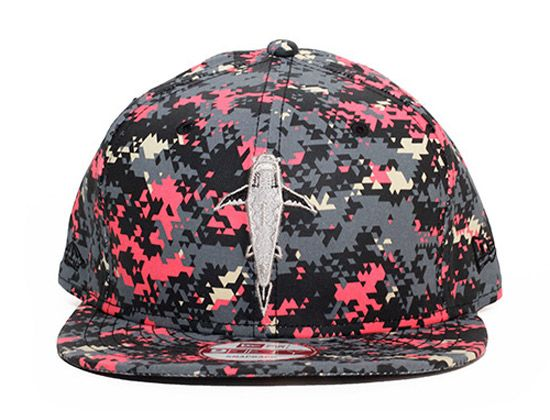 Swim Deep Tri Camo 59Fifty Snapback Cap By FITTED x NEW ERA