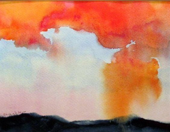 Karla Nolan, 'Chicken Little Was Right (Colorado Sunset)'