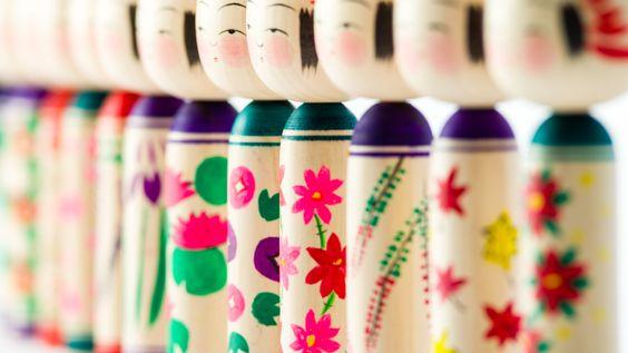 Like a flower, life more likely creative Kokeshi | hands and Hands - Sendai, Miyagi of handiwork us -
