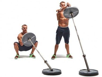 Przysiady ze sztangą na mięśnie nóg i ramion. http://manmax.pl/przysiady-ze-sztanga-miesnie-nog-ramion/