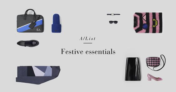 FESTIVE ESSENTIALS: Find the perfect stocking fillers that will bring happiness and joy to all this holiday season. #ArmaniAlist Browse our selection at http://arma.ni/festiveessentials