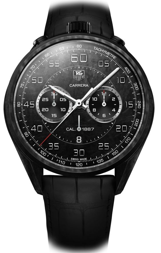 tag heuer watches | TAG Heuer Carrera Carbon 1887 Concept | The Home of TAG Heuer ...