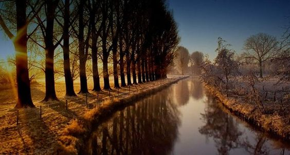 Niers River, Wachtendonk, Germany. @the cool hunter