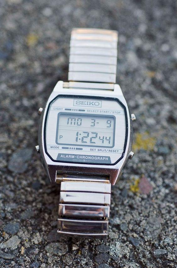 vintage s digital seiko alarm chronograph a904