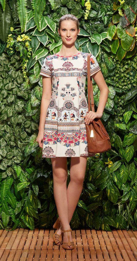 Vestido Pequenos Faraós | Lookbook | Antix Store - SOBRE AMAR AS PEÇAS DA ANTIX ♥ www.blogregianegama.com.br: