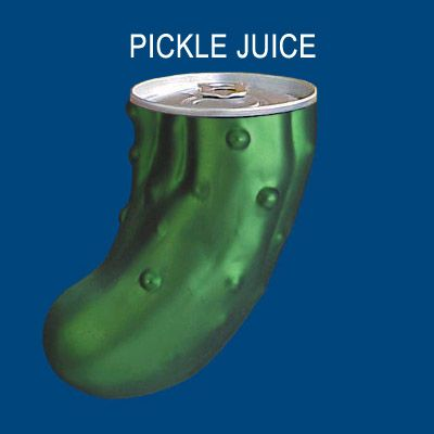 Attention Athletes- Drink Pickle Juice to Relieve Muscle Cramps!